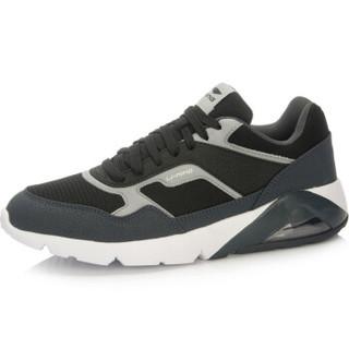 LI-NING 李宁 ARCL039-3 跑步系列男子经典跑鞋 黑/檀黑色/凝雪灰 39.5码