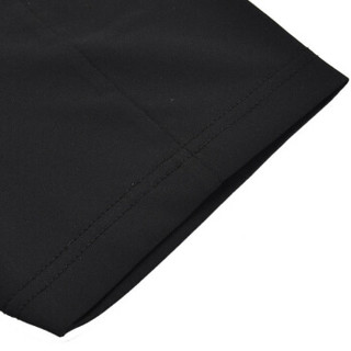 LI-NING 李宁 男子短袖T恤  ATSN021-3 标准黑 M码