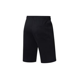 LI-NING 李宁 韦德系列 男 短卫裤 AKSN271-1 标准黑 XXL码