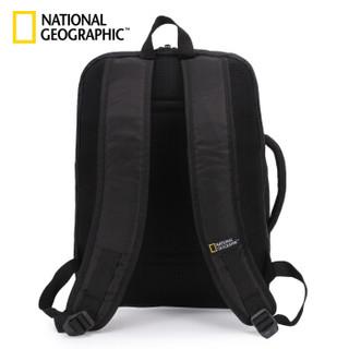 国家地理(NATIONAL GEOGRAPHIC)商务双肩包 15.6英寸电脑包多功能双肩背包笔记本手提包 蓝色-N13211.49