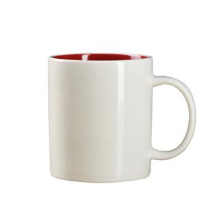 定制380ML带勺国际陶瓷水杯 马克杯 广告杯 办公杯 HTSM078,起订量300个 企业定制详询客服