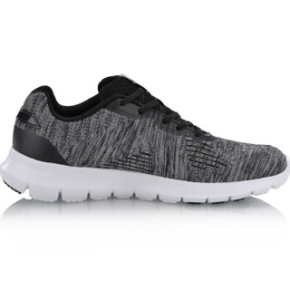 LI-NING 李宁 ARKN003-2 跑步系列男子灵动跑鞋 标准黑/檀黑色/标准白 45码