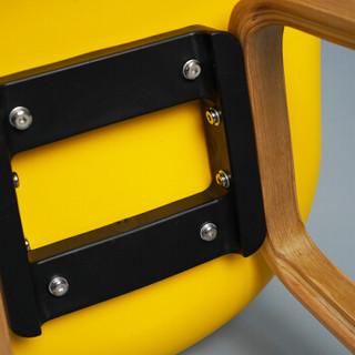 百思宜 吧椅北欧现代简约时尚创意吧台椅吧台凳设计师酒吧椅子酒吧凳子 黑色75cm
