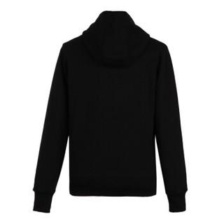 范思哲 范瑟丝 VERSACE VERSUS 奢侈品 男士黑色棉质连帽长袖卫衣 BU90635 BJ10390 B1008 XL码