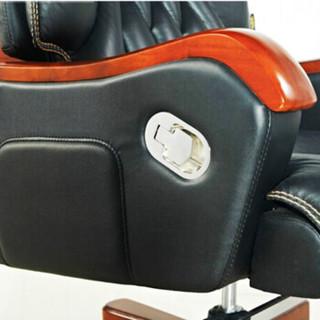 世木杰大班椅Y056N办公椅电脑椅可升降旋转老板椅牛皮椅