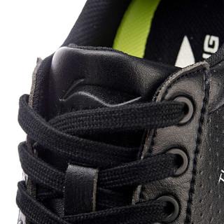 LI-NING 李宁 男 运动时尚系列  潮流休闲鞋  AGLN021-2 标准黑/标准白 44码