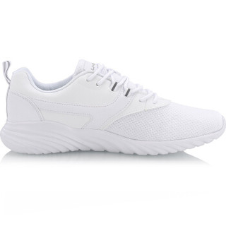 LI-NING 李宁 运动时尚系列 男子经典休闲鞋 AGCN053-1  标准白 44码