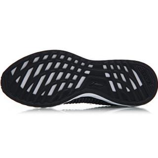 LI-NING 李宁 跑步系列 男子减震跑鞋 ARHN195-4 标准黑/铁青灰  41.5码