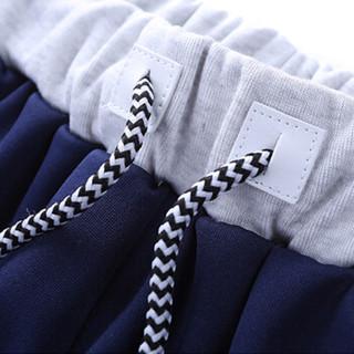 稻草人(MEXICAN)短袖套装男2019夏季新品男士纯色休闲立领短袖T恤短裤运动套装男 灰色 3XL