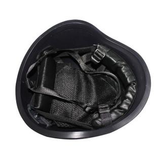 先锋连 户外防护头盔凯夫拉防弹头盔战术安全帽勤务执勤巡逻盔 二级PE防弹头盔黑色