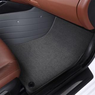 康车宝 汽车脚垫全包围 皮革+超弹丝专车专用 灰色 厂家定制直发