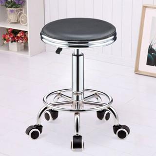 华恺之星吧台椅可升降酒吧椅吧凳子实验椅子高脚凳HK1062滑轮款