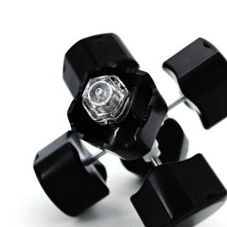 GAN356AIR三阶魔方(黑色普亮贴纸版)专业速拧竞技比赛专用顺滑儿童益智玩具儿童节礼物初学版玩具套装