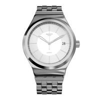 斯沃琪(Swatch)瑞士手表 金属装置51系列 装置随性 机械男女表YIS421G