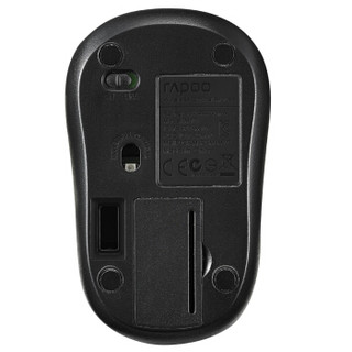 雷柏(Rapoo) M218 无线鼠标 办公鼠标 笔记本鼠标 黑色 5只装