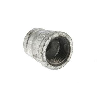 建支 国标热镀锌变径管箍 玛钢 40*25mm  10个/件