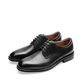 le saunda 莱尔斯丹 正装鞋 商务男士德比系带百搭 LS 9TM48202 黑色 38