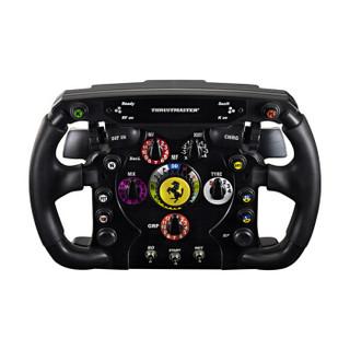 THRUSTMASTER 图马斯特 F1 FerrariF1WheelAddOn 法拉利赛车方向盘盘面 (黑色)