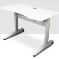 Hbada 黑白调 HSJZ002WM 台式升降电脑桌 白色