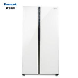 Panasonic 松下 NR-EW58G1-XW 570升 对开门冰箱
