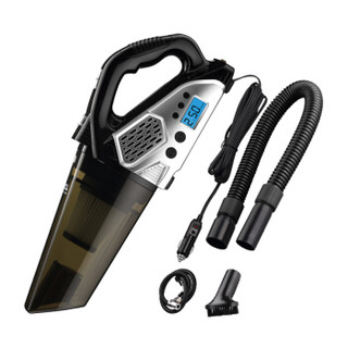 TCL车载吸尘器 CX7充气泵四合一多功能 双电机 干湿两用 数显胎压 大功率 双电机+真空吸尘+一键充气