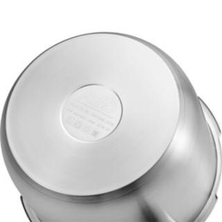 ASD 爱仕达 WG1824DN 不锈钢无蒸格复底压力锅 24cm