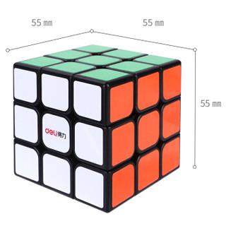 得力(deli)3阶魔方 比赛专用魔方 儿童学生益智玩具74502