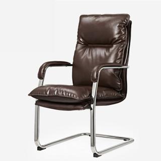 卡奈登 老板职员办公电脑椅会议弓形椅主播电竞椅 XTB14 咖啡色