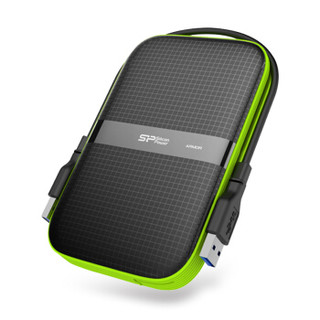 广颖电通(Silicon Power)1TB USB3.0移动硬盘 Amor A60 2.5英寸 三防军规防震防水防尘游戏玩家PS4 Xbox