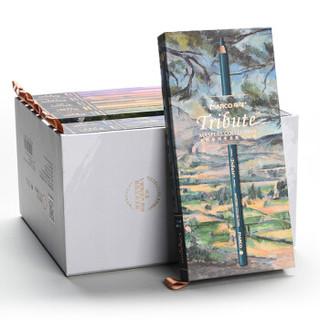 马可(MARCO)3300-80CB Tribute大师系列 专业80色彩色铅笔/填色笔/彩铅  致敬绘画大师经典之作定制礼盒