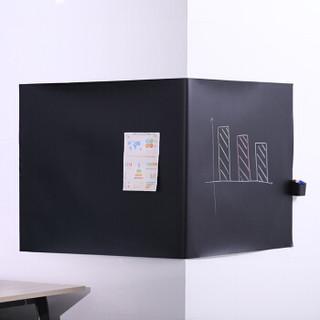 得力(deli)900*2000mm软铁磁性黑板 教学黑板贴 带背胶白板写字板50003