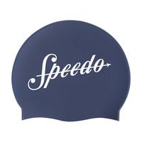 SPEEDO 速比涛 海岸线系列 808385 中性款硅胶泳帽 (海蓝色)