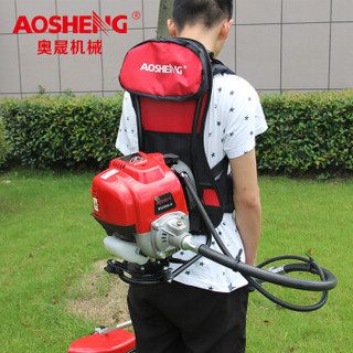 奥晟机械 aoshengjixie BG350AW四冲程汽油割草机、背负式割灌机、打草机、割稻机、收割机