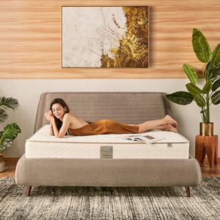 美国丝涟(Sealy) 床垫 新爱脊舒适 亲肤泡棉 钛合金美姿感应弹簧 席梦思双人床垫 偏硬  2米*2米厚21厘米 *2件