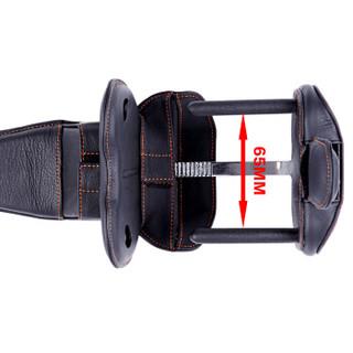 钜甲 一体式钜甲锁 GH-65-黑色 汽车方向盘锁 防盗锁 汽车锁 超B级防盗锁芯