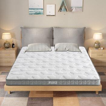 顾家家居 床垫 M1007 白色 乳胶 180*200*14cm