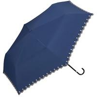 W.P.C 防晒防紫外线轻量折叠遮阳伞 蓝色