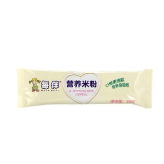 每伴 胡萝卜营养米粉 225g*2盒