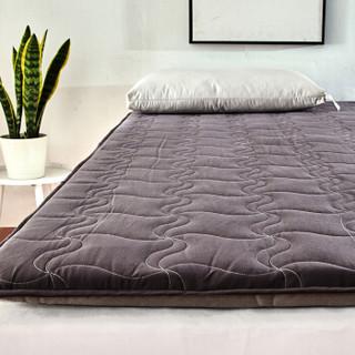 艾维(I-WILL) 床垫床褥子 全棉床垫子垫被榻榻米 加大双人 180*200cm飞镖款床垫-灰色