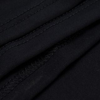 LI-NING 李宁 羽毛球系列 女 裙裤 ASKL116-1 新基础黑 L码 (黑色、L)