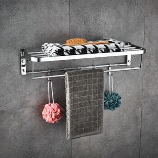 九牧(JOMOO)九牧浴室不锈钢挂件毛巾架挂件五件套939456 五件套939456-1B-2