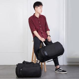 victoriatourist 旅行包 健身包男商务单肩运动包休闲手提包干湿分离V7020标准版黑色