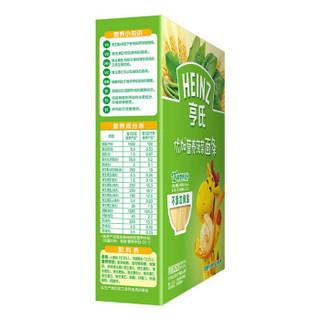 亨氏 (Heinz) 婴幼儿辅食 西兰花香菇+菠菜组合装 优加宝宝面条252g(6-36个月适用)(新老包装交替)