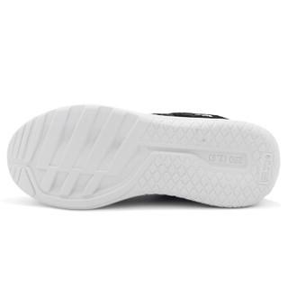 WARRIOR 回力 飞织布男士系带跑步运动休闲鞋 WXY-6147 黑色 40