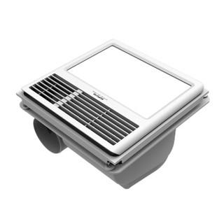 奥普(AUPU)集成吊顶浴霸 QTP8018B 纯平嵌入式风暖浴霸 三合一(曲美项目)