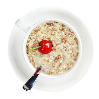 金日禾野 黑燕麦片太极燕麦片900g 无添加蔗糖 即食高纤原味免煮营养冲饮谷物早餐罐装