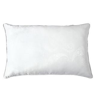 水星家纺蚕丝枕芯 格兰贝蚕丝·眠乐枕头 提花亲肤枕头芯 一只装48*74cm