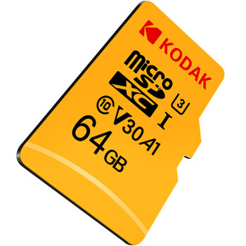 京东PLUS会员:Kodak 柯达 microSDXC UHS-I U3 TF存储卡
