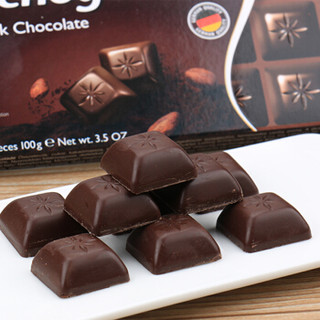 Mauxion 美可馨 小方块黑巧克力 100g 盒装