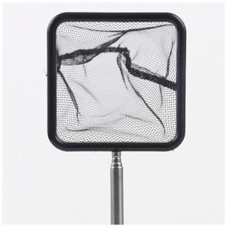 NATURAL COLOR 鱼缸用品 鱼捞 网水族箱 渔捞 配件热带鱼金鱼缸 不锈钢可伸缩 手抄网  渔捞可伸缩3寸